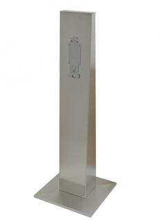 Ophardt ingo-man® plus Standfuß 3400177-3400262 aus Edelstahl mit/ohne Rollen