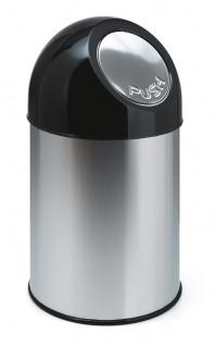 Abfallbehälter mit Druckdeckel 30 Liter