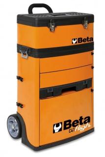 Beta Trolley mit 2 Stapelbaren Modulen, rot - Vorschau 2