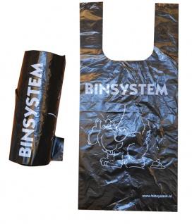 BINsystem Plastiktüten Schwarz