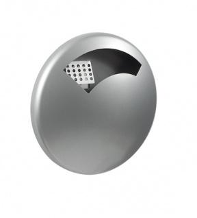 Rossignol Disco Wandascher 0, 5 Liter aus pulverbeschichtetem Stahl mit UV-Absorber