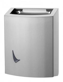 Wings Abfallbehälter offen erhältlich in 9L, 20L und 56L aus Edelstahl