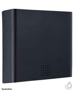 Proox® ONE dark passion moderner Papierhandtuchspender DP-100 aus Aluminium schwarz