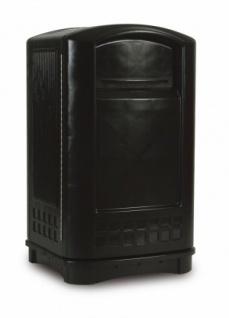 RUBBERMAID Landmark™ Abfallbehälter ohne Aschenbecher-Einsatz aus Polyethylen