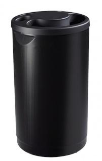 Rossignol Multigob schwarzer Bechersammler aus Kunststoff mit oder ohne Abfallkorb - Vorschau 3