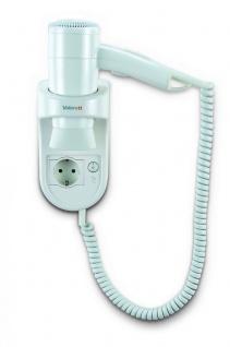 Valera Premium Smart 1600 Watt Socket Haartrockner aus weißem Kunststoff