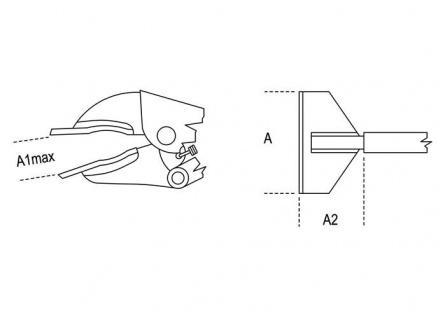 Beta Gripzange verstellbar für Spengler 1063/200 - Vorschau 2
