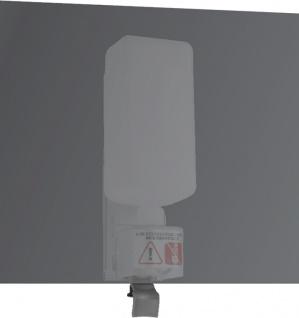 Wagner-EWAR Seifenspender hinter Spiegel 950ml WP174-2 Edelstahl matt