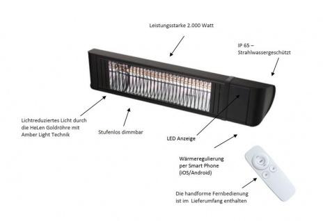 HeizMeister LuXus Professionell von Infralogic IP 65 Infrarot Heizer