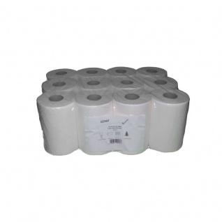 Papierhandtücher 12101 1-lagig MINI Zellstoff 12 Rollen auch für Innenzug