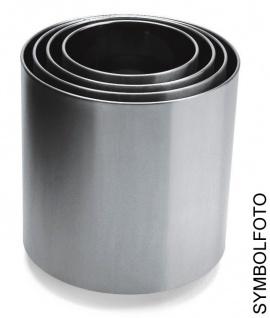 Graepel G-Line Pro NAXOS 6 Blumenübertöpfe in versch. Größen, poliertem Edelstahl 1.4016