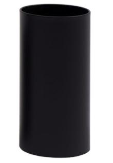 Graepel G-Line Pro Papierkörbe Pieno Edelstahl, schwarz lackiert, in 4 Größen
