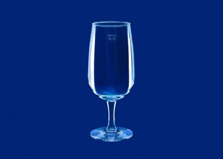 Weinglas 0, 1l SAN Glasklar aus Kunststoff wiederverwendbar - Vorschau 4