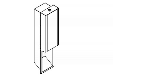 Franke Schaumseifenspender für Unterputzmontage in 3 verschiedenen Varianten erhältlich EXOS. - Vorschau 5