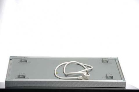 Infrarot Tafelheizung 600x1100mm mit Alurahmen und Wandhalterung von Elbo Therm - Vorschau 5