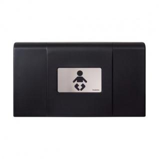 Foundations Klappbarer Wickeltisch zur Wandmontage inklusive Sicherheitsgurt erhältlich in verschiedenen Farben