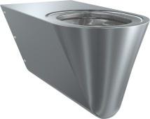 Franke CMPX594 Tiefspül-WC behindertengerecht geeignet zur Wandmontage