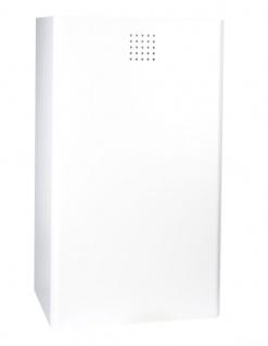 Proox® ONE snow fall hochwertiger Abfallbehälter weiß beschichtet RAL 37L