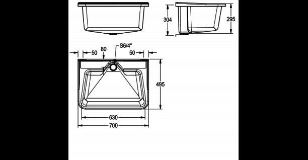 Franke Mehrzweckbecken SIRIUS aus glasfaserverstärktem Polyester-Recyclingmaterial - Vorschau 4