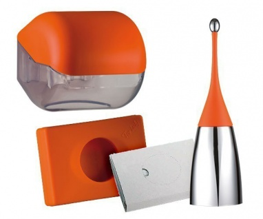 Set Angebot Marplast Design Soft Touch Colored Edition MP 584-654-619 in Orange