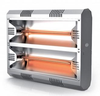 Moel Hathor Infrarot Heizstrahler 792 aus Aluminium mit 4000 Watt zur Wandmontage