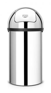 Brabantia Push Bin aus Edelstahl und Kunststoff 60 Liter