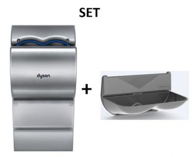 SET Dyson Airblade dB Händetrockner AB14 + Driplate(TM) Wassersammler