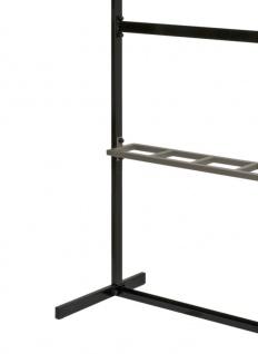 Schirmständer HIQ Aluminium Grau