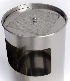 Graepel G-Line Pro LIVIGNO GIANT outdoor Standascher aus Edelstahl 1.4301