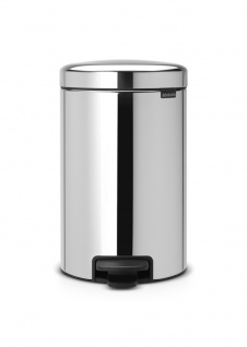 Tretmülleimer newIcon 12 Liter mit Inneneimer aus Metall, Brabantia
