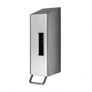 Dan Dryer Classic Design manueller Seifenspender 1, 2L aus Edelstahl für Flüssigseife