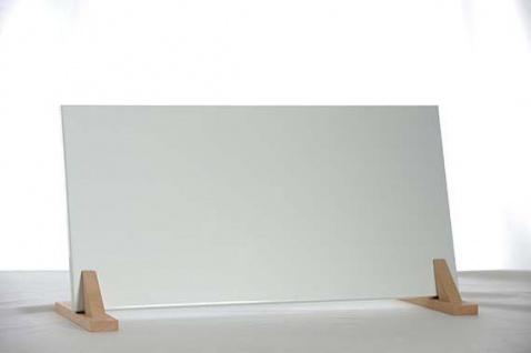 Infrarot Flachheizung 200W in RAL Farbtönen ohne Aufpreis incl. Wandhalterung oder Holzfüßen Natur 7°