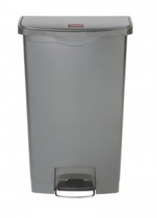 RUBBERMAID Slim Jim® Kunststoff-Tretabfallbehälter mit Pedal an der Breitseite 68 L - Vorschau 3