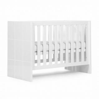Childwood Quadro white B120QN Kinderbett 60x120 und 90x200