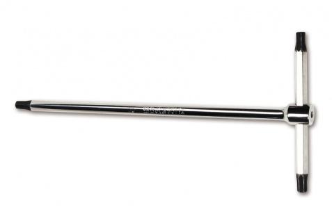 Beta Stiftschlüssel mit T-Griff, Außenvierkantprofil an drei Enden, für Torx®-Schrauben 951TX