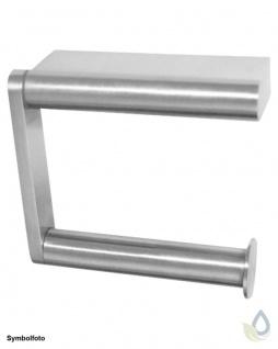 "Proox® ONE pure PU-385 einfacher WC Rollenhalter "" extra strong"" aus Edelstahl"