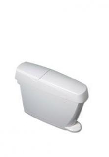 Damenhygienebehälter - 15 Liter - Platzsparendes Fassungsvermögen