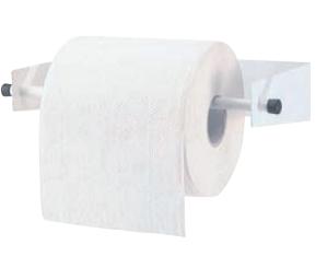 Bobino Papierrollenhalterung zur Wandmontage aus pulverbeschichtetem Stahl Rossignol 53246