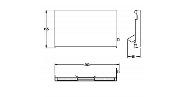 Franke Auswechselbare Front EXOS. für Unterputz WC-Rollenhalter in 3 verschiedenen Varianten erhältlich - Vorschau 4
