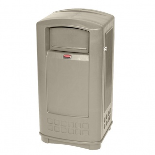 RUBBERMAID Landmark Junior(TM) ™Abfallbehälter 132, 5 Liter aus Polyethylen - Vorschau 3