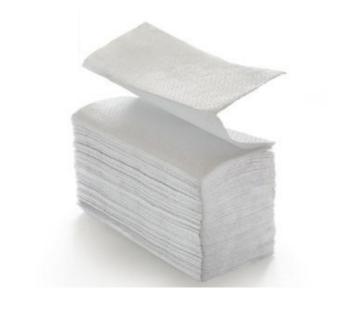 Papierhandtücher 10133 W-Falz - Karton - 2 lagig aus Zellstoff