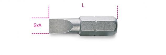 Beta Schraubeinsätze für Schlitzschrauben 861LP