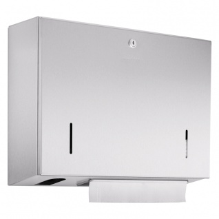 Wagner-EWAR Kombination 500Bl./500ml Sensor-Seife WP550e Edelstahl für Aufputzmontage