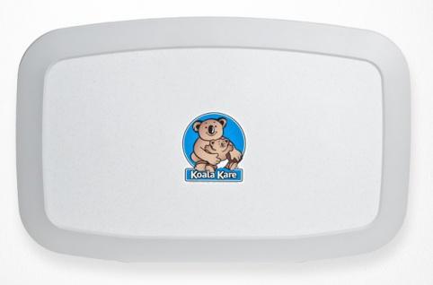 NEUE Koala Wickelstation KB-200-05 Horizontal Weiß-Granit MICROBAN® Hygieneschutz