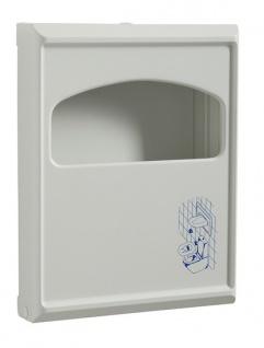 Rossignol Sanipla weißer Spender aus Kunststoff für Toilettensitzauflagen