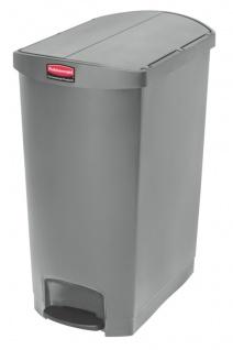 Slim Jim Step On Container End Step Kunststoff 90 Liter, Rubbermaid