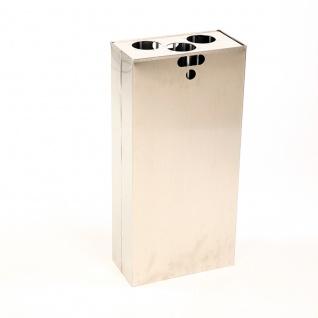1/2 Inneneinsatz und Bechersammler für Carro 110 Liter. Aluminium