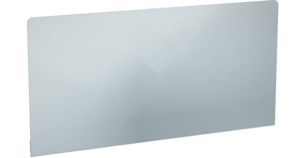 Franke aufsteckbare Rückwand für Wandausgussbecken aus Edelstahl mit Konsolen
