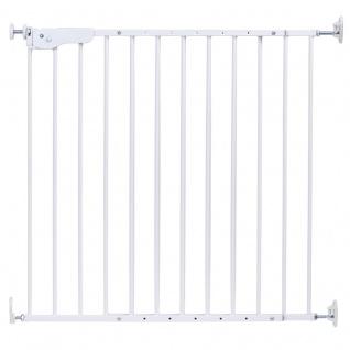 Childhome Supra Tür+Treppengitter Metal Weiss (75-110Cm)