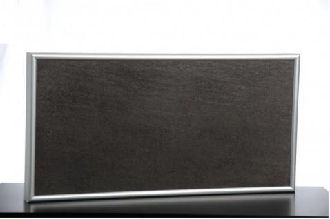 Infrarot Steinheizung in braun oder schwarz mit Kabel und Stecker von Elbo Therm